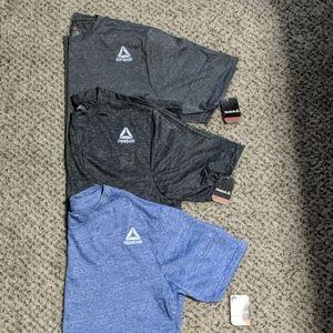 (3) New Reebok Men's Workout TShirts (L)